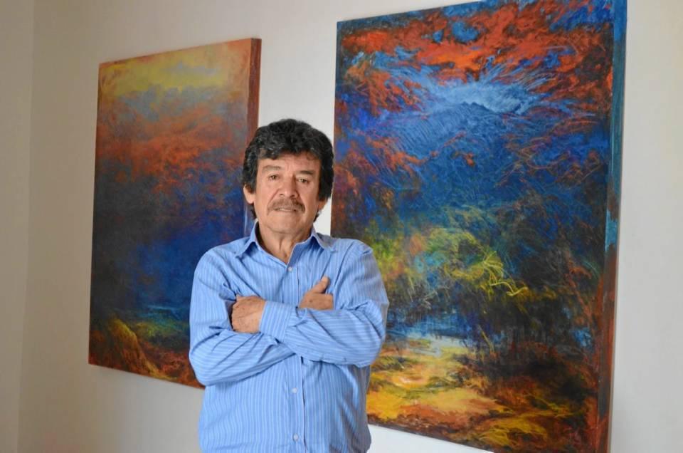Jaime Pinto hace parte de una familia de pintores, son nueve hermanos de los cua-les siete son pintores, uno de ellos es Elberto Pinto.