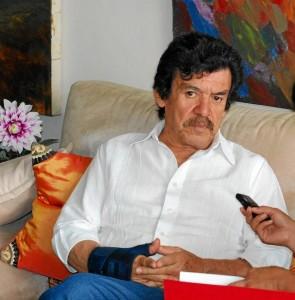 El artista fue criado en un humilde hogar de Charta, Santander.