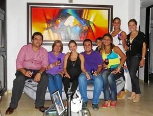 César Augusto Quijano, Claudia Liliana Camacho, Lucy Rueda, Carlos Alberto Oviedo, Diana Ruiz Villamizar, Camilo Augusto Quijano Ruiz, Luisa Fernanda Ruiz y Sara Patricia Caballero Meneses.