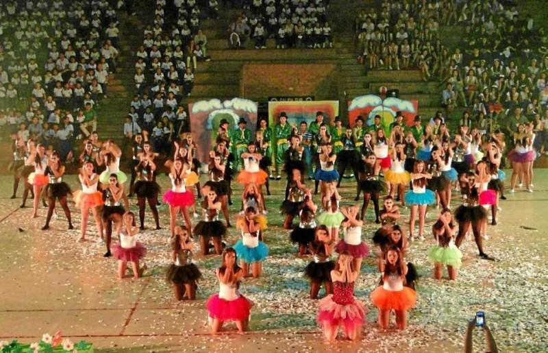 Este año hubo una temática especial para que cada grado hiciera su show de inauguración.