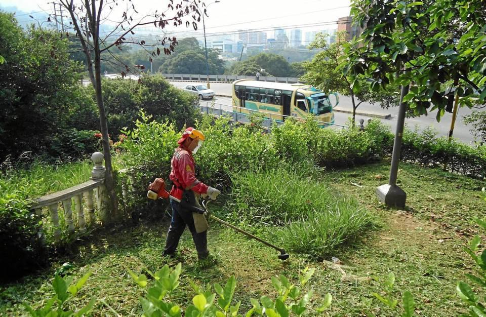 El 5 de abril hubo una nueva jornada de limpieza en el parque.