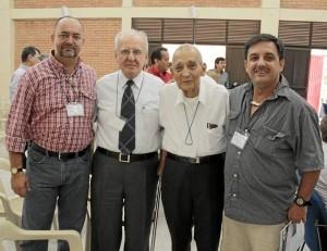 Manuel Antonio Serrano, Jaime Luis Gutiérrez, Leopoldo Arismendi y Fernando Ves-ga.