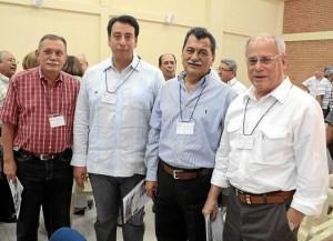 Libardo Díaz, Danny Sequeda, Jorge Gómez Villamizar y Miguel José Pinilla.
