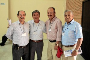Wilson Barajas Rojas, Gustavo González, Álvaro Cardozo y Delzar Vega.