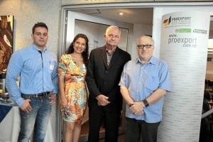 Germán Ariza, Belkys Moreno, Randolph Harris y Phil Zwibel.