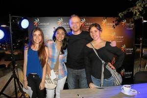 Valentina Vásquez, María Camila Uribe, Alberto Plaza y Luisa Fernanda Uribe.