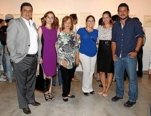 Horacio Blanco, Adriana Serrano, Patricia Roa, Melisa García, Jassibe Gandur y Juan Cobos.