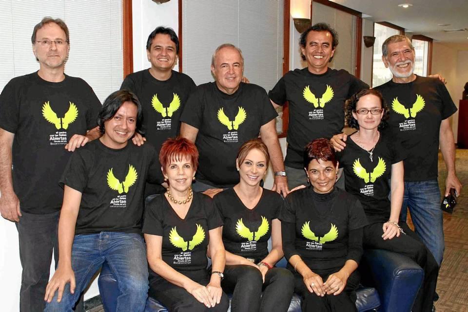 Este es el grupo de gestores culturales que lograron unir sus esfuerzos y crear el Circuito del Arte.