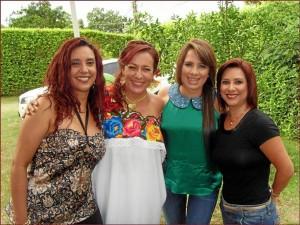 Natalia Vergel, María Juliana Mantilla, Ana María García, María José Oróstegui.