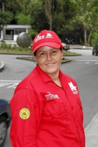 Blanca Nubia Peña Sandoval, parquera de Terrazas.