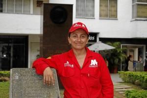 Angélica María Rueda, parquera de San José María Escrivá