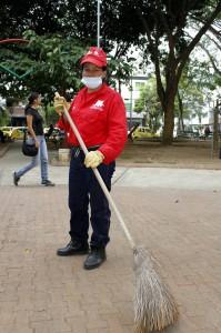 Yolanda Rojas Díaz, parquera del parque de Conucos.