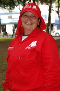 Gladys Ardila, parquera de Coomeva y Los Olivos.