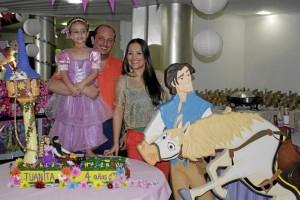 Juanita Hederich Trillos, Franz Hederich y Diana Trillos.