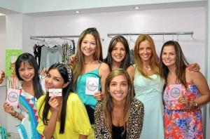 Laura Lemos, María Paula Orejarena, María Juliana Cancino, Viviana Ramírez, Silvia Monsalve, Laura Acuña y Lizeth Durán.
