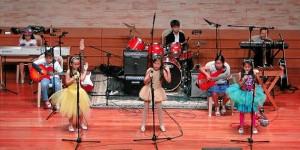 El concierto fue una de las actividades principa-les del colegio en este primer trimestre del año