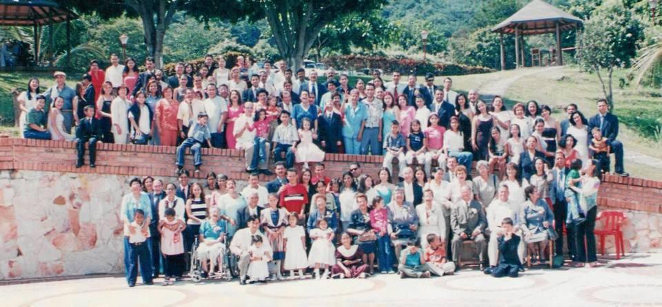 En 1996 se realizó el último encuentro familiar de los Delgado Torres. A la cita acudieron 350 personas entre hijos, nietos, nueras, yernos y bisnietos.