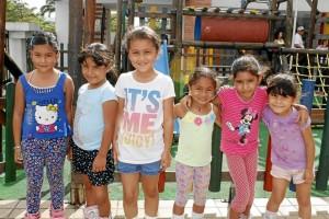 Nicole Fernández, María José Nieto, Juliana Corzo, María Paula Moreno, Isabela Yate Niño y Paula Sofía Valero.