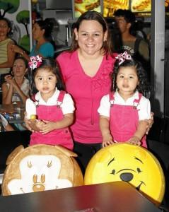 Érika Delgado (mamá), Erika María Delgado y Erika Paola Delgado