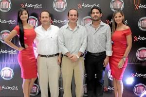 Maryuri González, Bernardo Castro, Nicolás Urrea, Eduardo Villamizar y Nata-lia Pérez.