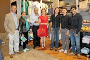 Lelio Lizarazo, María Ofelia Ortiz, Jorge Azuero, Sheila Assaf, Angélica Mejía, German Gómez y Luis Fernando Landazábal.