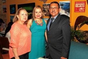 Doralba Amaya de Rojas, Mónica Andrea Rojas Amaya y José Édgar Rojas Díaz.