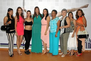 Laura Juliana Rueda, Lina Díaz, Sandra Patricia Toro, Laura Patiño, Mar-ía Fernanda Rueda, Barbará Rojas, Mercedes Álvarez, Elena Bernal y Nancy de Rueda.