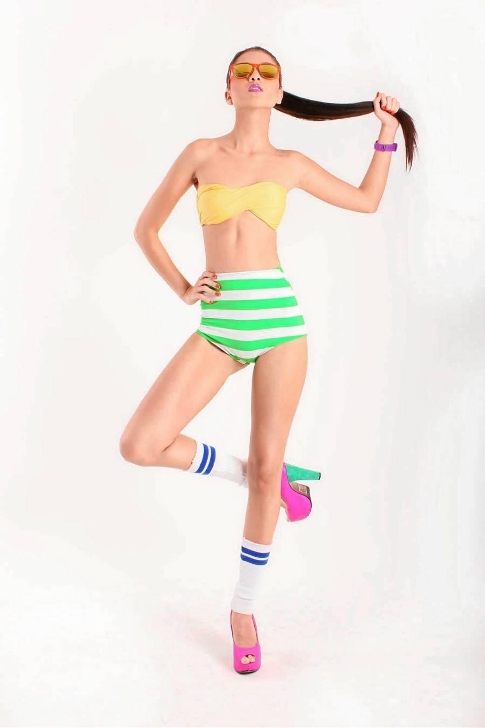 Tatiana Arias nació oficialmente como modelo en 2011 en el Santander Fashion Week.