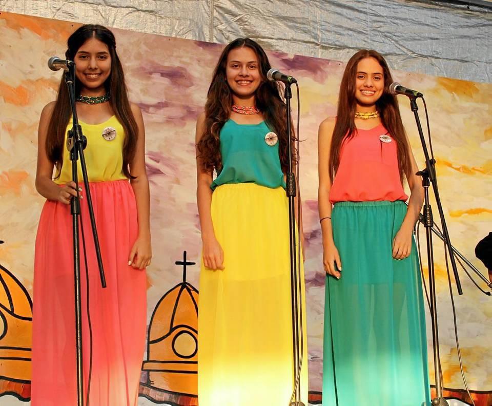 Isabella Prieto Pérez, Gabriela Prieto Pérez y Manuela Prieto Pérez.