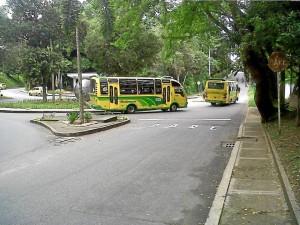 El servicio de buses en Terrazas fue cubierto por Unitransa y Metrolínea.