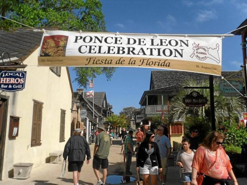 Este año la fiesta de La Florida se realizó en San Agustín, allí estuvo Juan Ponce de León, el colombiano.