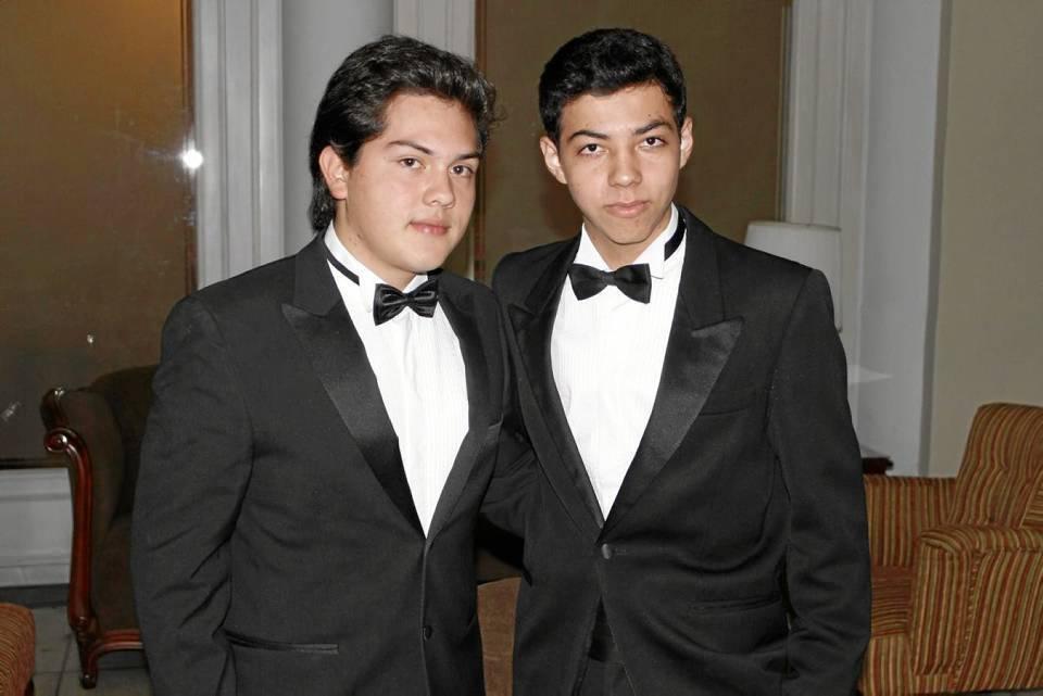 Francisco Anaya y Óscar Fernando Cáceres.