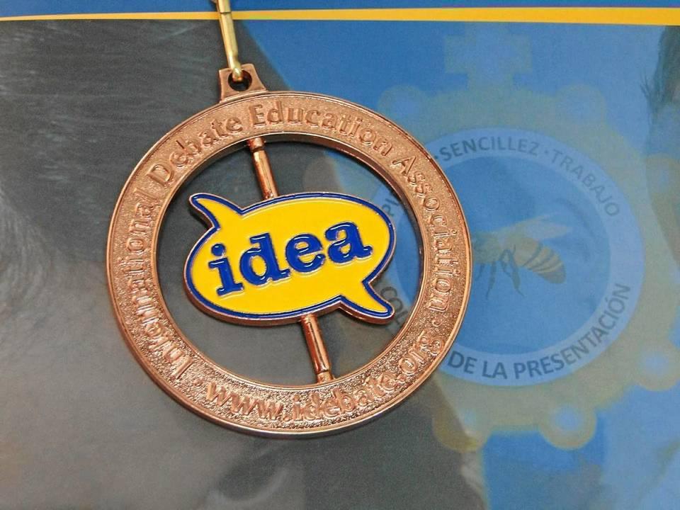 Esta fue la medalla gana-dora