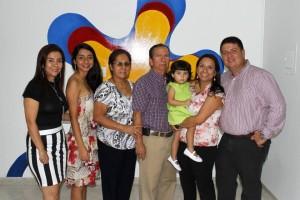 Nelson Díaz /GENTE DE CABECERAAnayibe Arciniegas, María Ximena Angarita, Graciela Gélvez, Alirio Arciniegas, Abigail Rodríguez (bebé), Marcela Arciniegas y Amílcar Rodríguez.