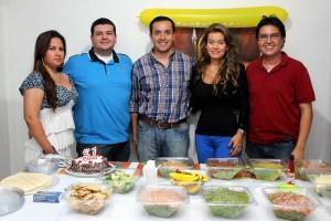 Sandra Jinete, Jorge Navas, Mauricio Gómez, María Juliana Rodríguez y Randol Flores. - /GENTE DE CABECERA