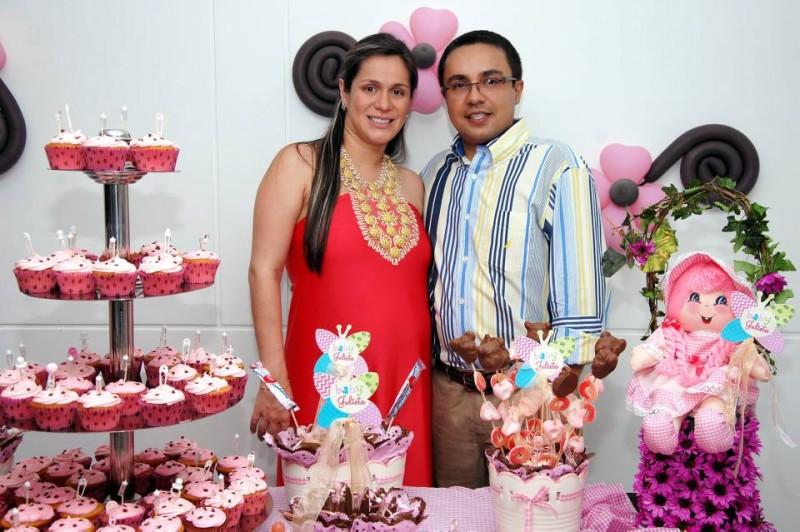 Vanessa Villamizar y John Valencia