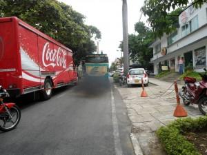"""""""Este es solo un ejemplo de los muchos que vemos en las calles de Bucaramanga"""", dijo el ciudadano que envió la foto.    - Suministrada Vicente Torres / GENTE DE CABECERA"""