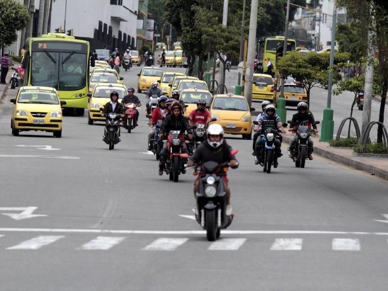 Los motociclistas fueron quizá los más favorecidos con la jornada.