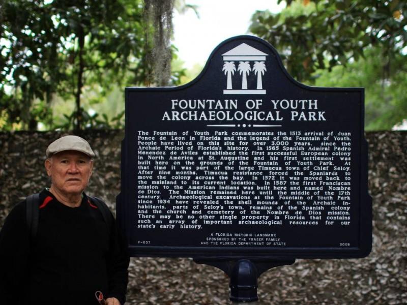 Don Juan vivió con alegría la fiesta de los Ponce de León en San Agustín, La Florida.