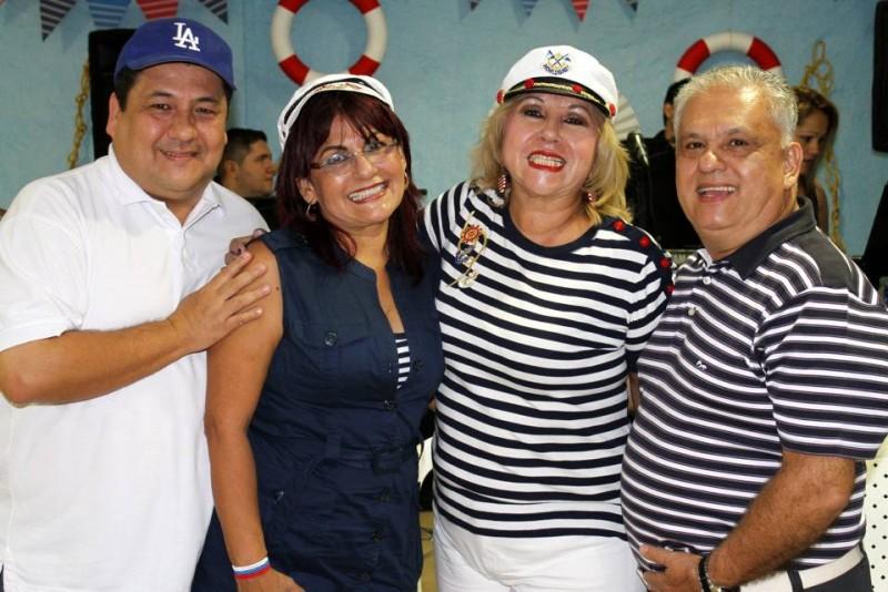 Fernando Sepúlveda, Beatriz Sepúlveda de Aycardi, Martha Sepulveda y Alfonso Sepúlveda. - Nelson Díaz /GENTE DE CABECERA
