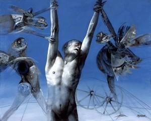 Algunas obras de David Manzur estarán expuestas en este ciclo. - Suministrada / GENTE DE CABECERA