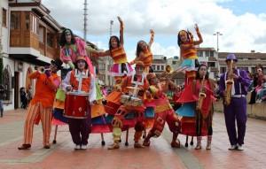 El Circo Teatro Incubaxion, finalista del programa Colombia Tiene Talento 2012, estará presente en el lanzamiento del Pacto Ciudadano por la Convivencia. - Suministrada /GENTE DE CABECERA
