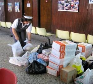 El voluntariado en Damas Grises incluye asistencia a necesitados en casos fortuitos