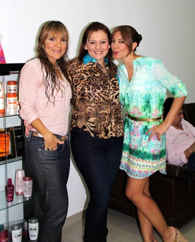 Andrea Leyva, Zulay Blanco y Adriana Liévano. - Suministrada /GENTE DE CABECERA