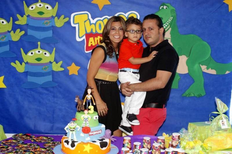 Paola Ruiz, Thomas Altuve y Johnson Altuve. - Nelson Díaz / GENTE DE CABECERA
