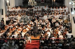 La entrada a los conciertos de la Sinfónica de la Unab es gratuita. - Archivo /GENTE DE CABECERA