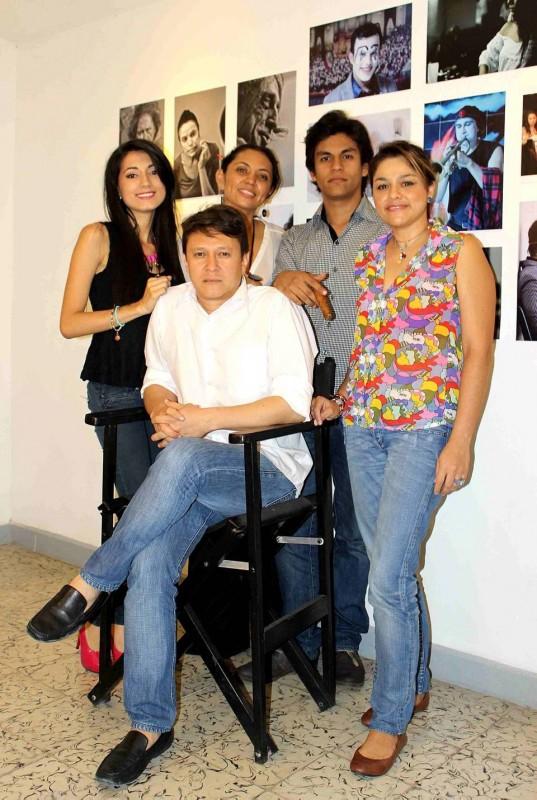 Ernesto Navarro,  Juan Oviedo, Sara López, Andrés Serrano y Liliana Higuita. - Mauricio Betancourt /GENTE DE CABECERA