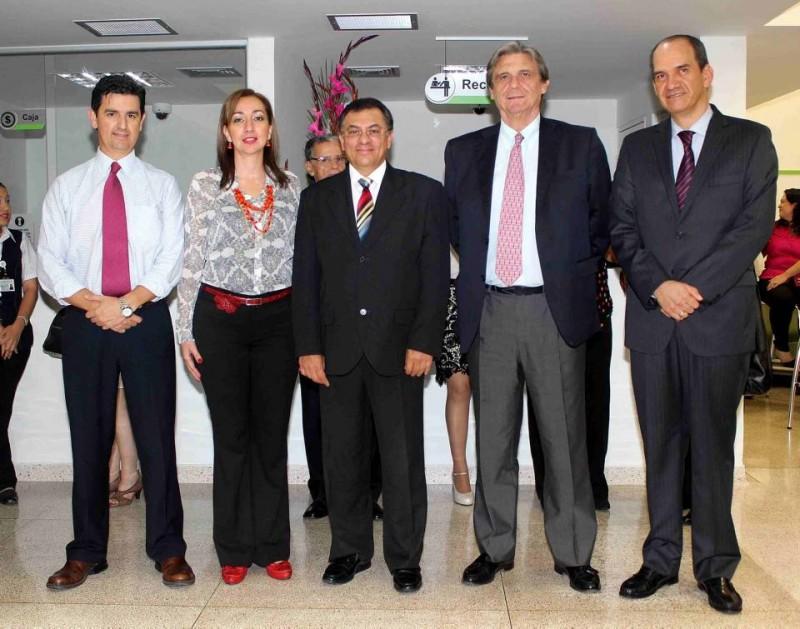 Hugo Ferreira, Diana Cure, Oswaldo Mateus, Iñigo Gómez Pineda y Antonio Orduz. - Mauricio Betancourt / GENTE DE CABECERA
