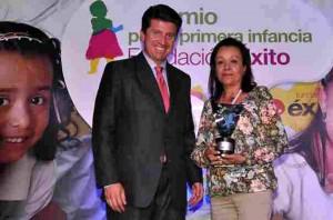 Uno de los mayores méritos que ha tenido la fundación es el Premio Primera Infancia de la Fundación Éxito, en 2012