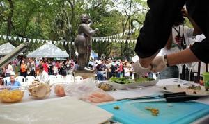 'Puro Sabor Social' se realizó por primera vez el año pasado en el parque San Pío. - Archivo / GENTE DE CABECERA